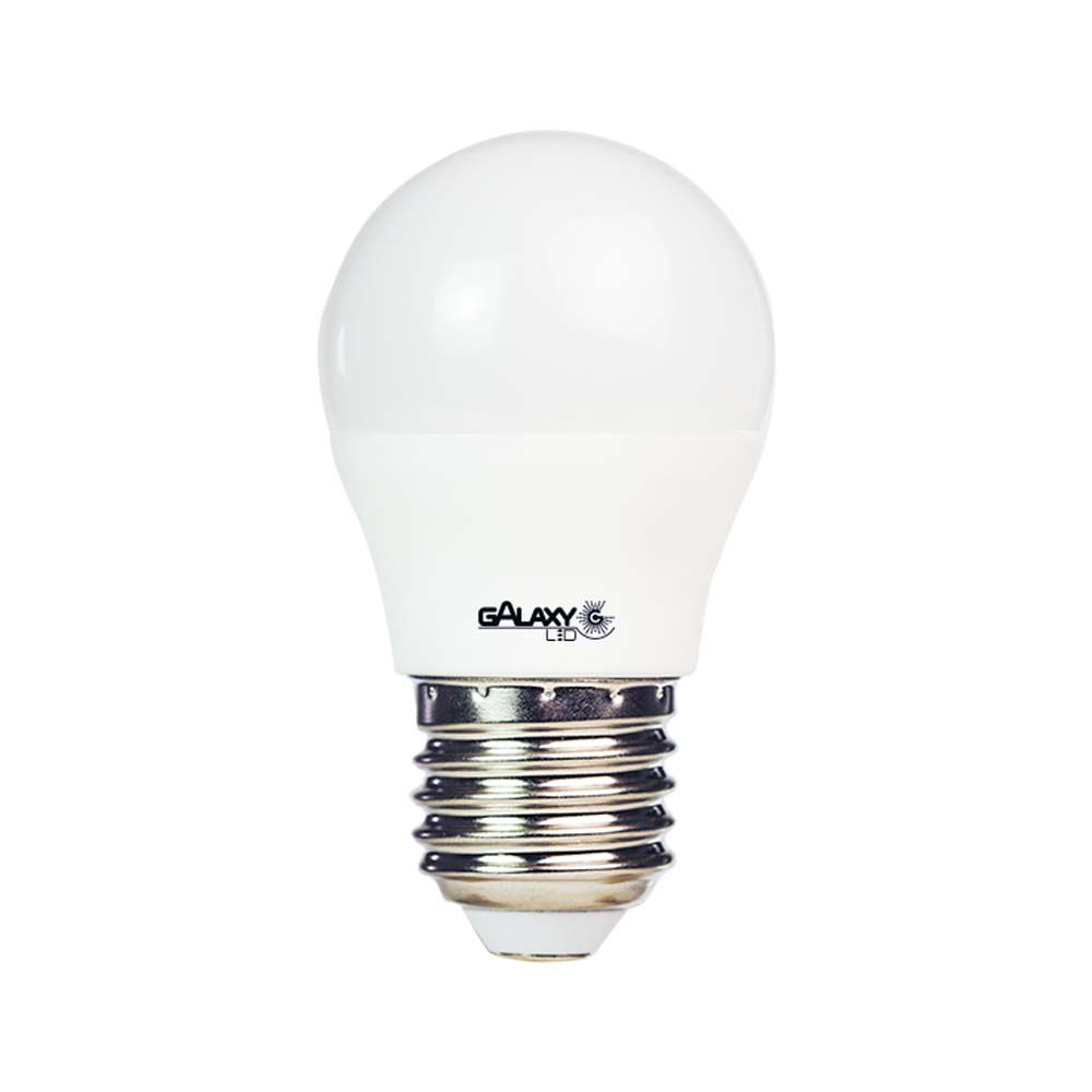 Lampada Led 4,8w Bolinha E14 Bi-Volt Galaxy Led Branca 480LM - Inmetro