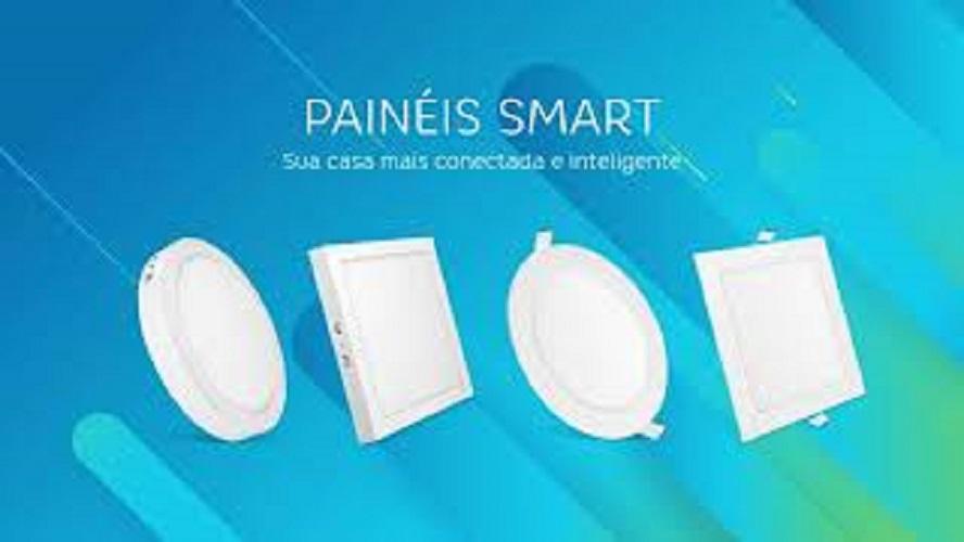 Luminária Led Redonda Embutir 18w Smart WI-FI Elgin (Branca e Amarela)