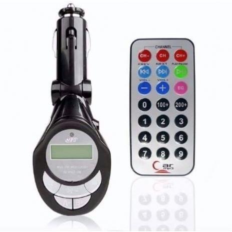 Modulador Fm Transmissor Wireless Sem Fio Veicular Carro Mp3