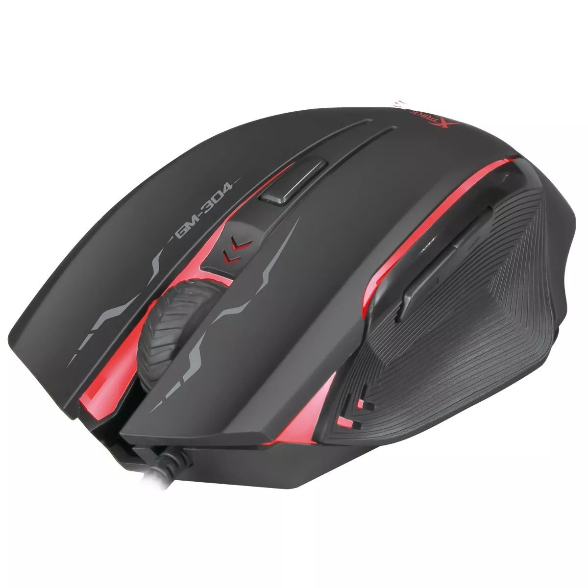 Mouse Gamer GM-304 2400DPI 6 Botões (5+Whell) Xtrike