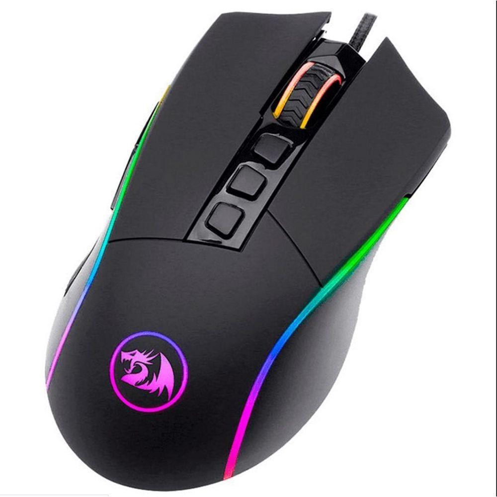 Mouse gamer Redragon Predator M612 RGB 8.000 Dpi