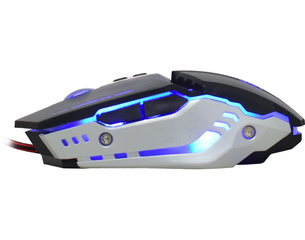 Mouse Mecânico K-Mex Gamer 3200Dpi M900 C/ Led
