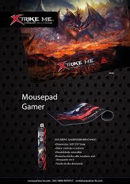 MousePad Gamer MP-002 Emborrachada Xtrike