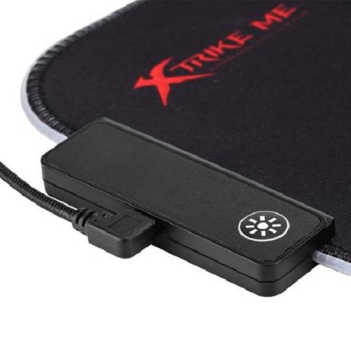 MousePad Gamer RGB 350X250x3mm Médio MP-602 Xtrike