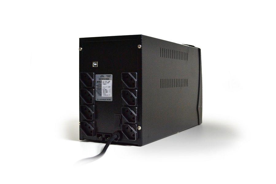 Nobreak 1500va Senoidal Ts Shara 4411 2bs Ent E Saida 110v/220v (Ent.Bateria Ext.)