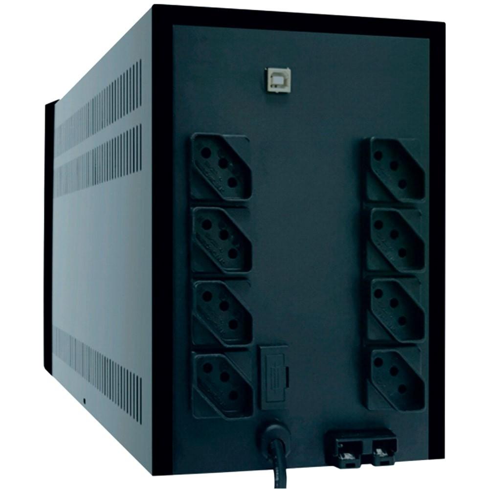 Nobreak 1500va Senoidal Ts Shara 4438 2bs Ent E Saida 110v/220v (Ent.Bateria Ext.)