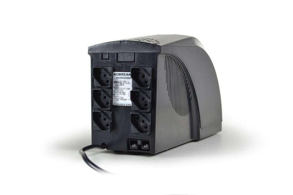 NoBreak TS Shara UPS Soho II 800VA (4414) Ent. e Saida Bi-Volt (Ent.Bat.externa)
