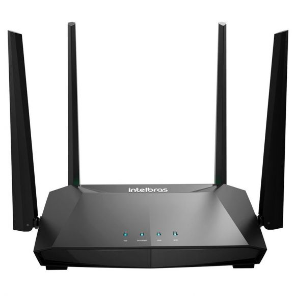Roteador Repetidor Wireless Intelbras Gigabit ACtion RG 1200 Preto