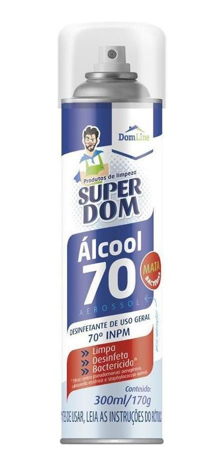 Spray Alcool 70% AER SuperDom 300ML/170G DomLine