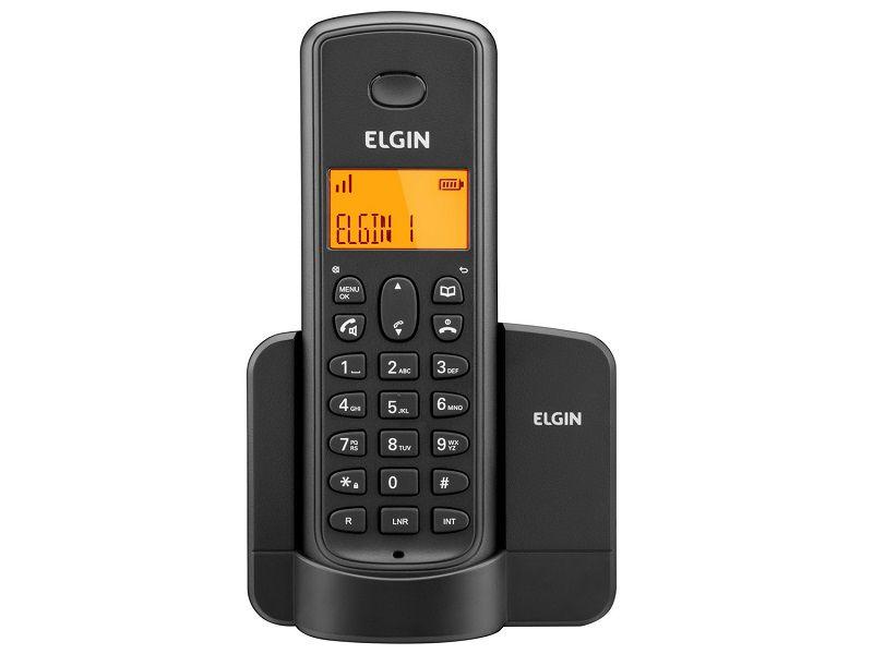 Telefone Sem Fio TSF8001 Elgin - Bina, Viva Voz, Visor Iluminado.