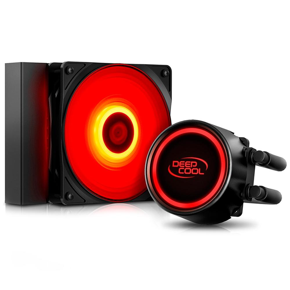 Water Cooler Deepcool Gammaxx L120t Red 120mm (Intel e Amd)
