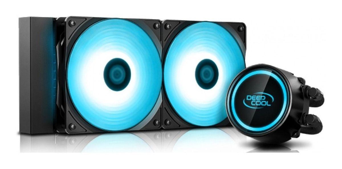 Water Cooler Deepcool Gammaxx L240t Blue 240mm (Intel e Amd)