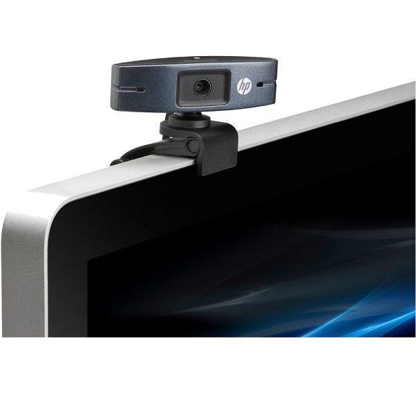 Webcam Hp HD 2300 720P 360° Videochamadas.
