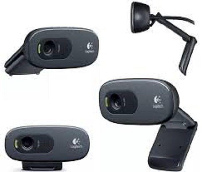 Webcam Logitech C270 3.0MP - Videochamadas em HD 720p