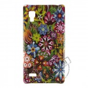 Capa Personalizada Flores Coloridas para LG Optimus L9 P768