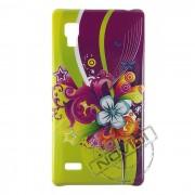 Capa Personalizada Flores com Arabescos para LG Optimus L9 P768