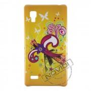 Capa Personalizada Flores e Arabescos para LG Optimus L9 P768 - Modelo 2