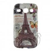 Capa Personalizada Cartão Postal Paris para Samsung Galaxy SIII Duos GT I8260 - Modelo 1