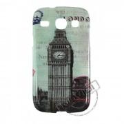 Capa Personalizada Cartão Postal London para Samsung Galaxy SIII Duos GT I8260 - Modelo 1