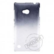 Capa personalizada Translúcida Gotas para Lumia 720 - Cor Preta