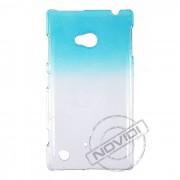 Capa personalizada Transl�cida Gotas para Lumia 720 - Cor Azul