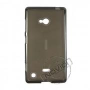 Kit Capa de TPU Premium + Película Transparente para Nokia Lumia 720 - Cor Grafite