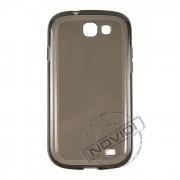 Kit Capa de TPU Premium + Película fosca para Samsung Galaxy Express i8730 - Cor Grafite