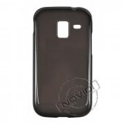 Kit Capa de TPU Premium + Película Transparente para Samsung Galaxy Ace 2 - Cor Grafite