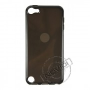 Kit Capa de TPU Premium + Película Transparente para Apple Ipod Touch 5 - Cor Grafite