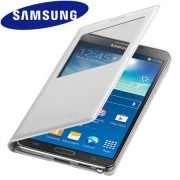 Capa S View Cover para Samsung Galaxy Note 3 N9005   - Original Samsung - Cor Branca