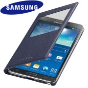 Capa S View Cover para Samsung Galaxy Note 3 N9005 - Original Samsung - Cor Preta