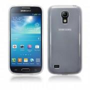 Kit Capa de TPU Premium + Película Pro Fosca para Samsung Galaxy S4 Mini I9192 - Cor - Transparente