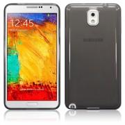 Kit Capa de TPU Premium + Película Pro Fosca para Samsung Galaxy Note 3 - Cor Grafite