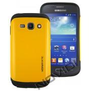 Case Slim Armor para Samsung Galaxy S2 Duos TV S7273 - Cor Amarela