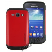 Case Slim Armor para Samsung Galaxy S2 Duos TV S7273 - Cor Vermelha