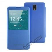 Capa S View Cover para Galaxy Note 3 N9005 - Cor Azul