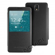 Capa S View Cover para Galaxy Note 3 N9005 - Cor Preta