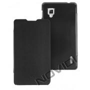 Capa Flip Cover para LG Optimus G E977 - Cor Preta