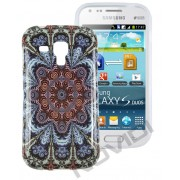 Capa Personalizada Arabescos Coloridos para Samsung Galaxy S Duos S7562 - Modelo 1