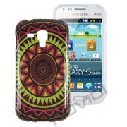 Capa Personalizada Arabescos Coloridos para Samsung Galaxy S Duos S7562 - Modelo 3 #sohoje