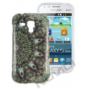 Capa Personalizada Arabescos Coloridos para Samsung Galaxy S Duos S7562 - Modelo 4