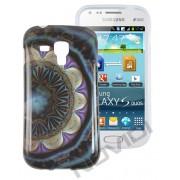 Capa Personalizada Arabescos Coloridos para Samsung Galaxy S Duos S7562 - Modelo 6