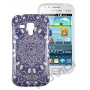 Capa Personalizada Arabescos Coloridos para Samsung Galaxy S Duos S7562 - Modelo 7