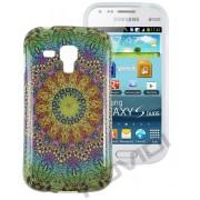 Capa Personalizada Arabescos Coloridos para Samsung Galaxy S Duos S7562 - Modelo 8