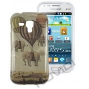 Capa Personalizada Elefantes para Samsung Galaxy S Duos S7562 - Modelo 2