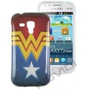 Capa Personalizada Wonder Woman para Samsung Galaxy S Duos S7562