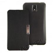 Capa Flip Cover para Samsung Galaxy Note 3 N9000 / N9005 - Cor Preta