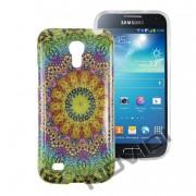 Case Personalizada Arabescos Coloridos para Samsung Galaxy S4 Mini I9192 - Modelo 5