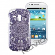 Case Personalizada Arabescos Coloridos para Samsung Galaxy S3 Mini I8190 - Modelo 1