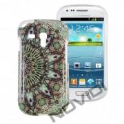 Case Personalizada Arabescos Coloridos para Samsung Galaxy S3 Mini I8190 - Modelo 3